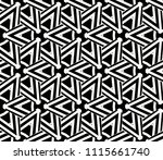 seamless pattern with symmetric ... | Shutterstock .eps vector #1115661740
