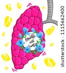 cartoon poster for music lovers....   Shutterstock .eps vector #1115662400