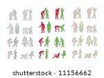 poster vector for stocks and... | Shutterstock .eps vector #11156662