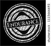 endurance chalk emblem   Shutterstock .eps vector #1115666693