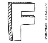 vector doodle sketch... | Shutterstock .eps vector #1115668670
