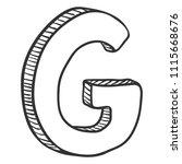 vector doodle sketch...   Shutterstock .eps vector #1115668676