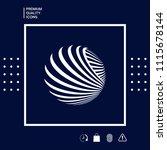 logo design. earth | Shutterstock .eps vector #1115678144
