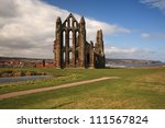 Whitby Abbey View Across The...