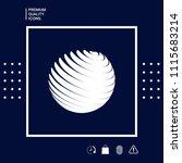 earth logo symbol | Shutterstock .eps vector #1115683214