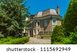 luxury house in the suburbs of... | Shutterstock . vector #1115692949