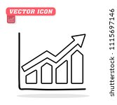graph icon in trendy flat...   Shutterstock .eps vector #1115697146