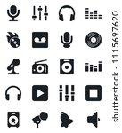set of vector isolated black...   Shutterstock .eps vector #1115697620