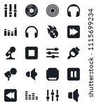 set of vector isolated black...   Shutterstock .eps vector #1115699234