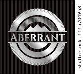 aberrant silvery emblem | Shutterstock .eps vector #1115704958