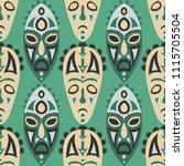 vector illustration. tribal... | Shutterstock .eps vector #1115705504