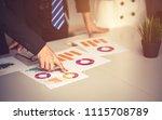 startup business people... | Shutterstock . vector #1115708789