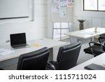 interior of meeting room in... | Shutterstock . vector #1115711024