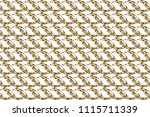 stylish graphic pattern.... | Shutterstock . vector #1115711339