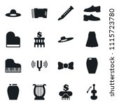 set of simple vector isolated... | Shutterstock .eps vector #1115723780