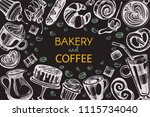 vector frame with graphic...   Shutterstock .eps vector #1115734040