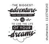 inspirational quote  motivation....   Shutterstock .eps vector #1115748143
