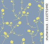 seamless floral pattern with...   Shutterstock .eps vector #1115751440