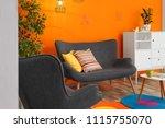 interior of modern living room... | Shutterstock . vector #1115755070