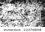 halftone texture black and white | Shutterstock .eps vector #1115768048