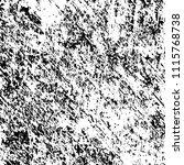 monochrome grunge texture black ... | Shutterstock .eps vector #1115768738