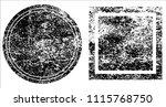 grunge texture set | Shutterstock .eps vector #1115768750