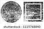grunge texture set | Shutterstock .eps vector #1115768840