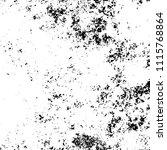 monochrome grunge texture black ... | Shutterstock .eps vector #1115768864