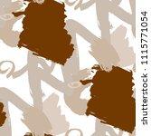 dry brush strokes. seamless... | Shutterstock .eps vector #1115771054