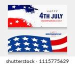 creative invitation flyer... | Shutterstock .eps vector #1115775629
