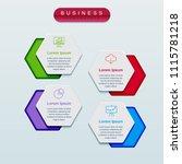 business infographics template... | Shutterstock .eps vector #1115781218