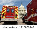 washington  dc   june 01  2018  ... | Shutterstock . vector #1115803160
