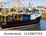 7 june 2018 the trawler...   Shutterstock . vector #1115807153