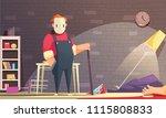 criminal horizontal... | Shutterstock .eps vector #1115808833