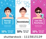 cosmetology rejuvenation... | Shutterstock .eps vector #1115815139