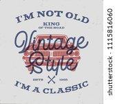 70 birthday anniversary gift t... | Shutterstock . vector #1115816060