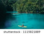 summer holidays vacation travel.... | Shutterstock . vector #1115821889