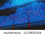 investment  trade and finance... | Shutterstock . vector #1115835356