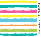paint lines seamless pattern.... | Shutterstock .eps vector #1115843054
