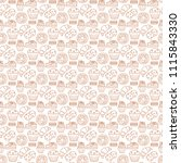 vector seamless pattern with... | Shutterstock .eps vector #1115843330