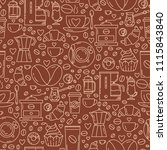 vector seamless pattern with... | Shutterstock .eps vector #1115843840