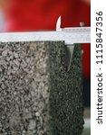 vernier caliper measuring size... | Shutterstock . vector #1115847356