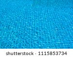 beautiful ripple wave and blue... | Shutterstock . vector #1115853734