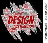 vector conceptual creativity... | Shutterstock .eps vector #1115859050