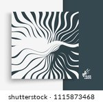 pattern with optical illusion.... | Shutterstock .eps vector #1115873468