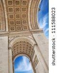 the triumphal arch  arc de... | Shutterstock . vector #111588023