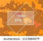 grunge urban dust distress... | Shutterstock .eps vector #1115884079