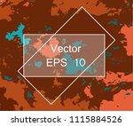 grunge urban dust distress... | Shutterstock .eps vector #1115884526