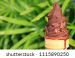 melting chocolate dipped soft... | Shutterstock . vector #1115890250