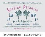 original handmade alphabet.... | Shutterstock .eps vector #1115894243
